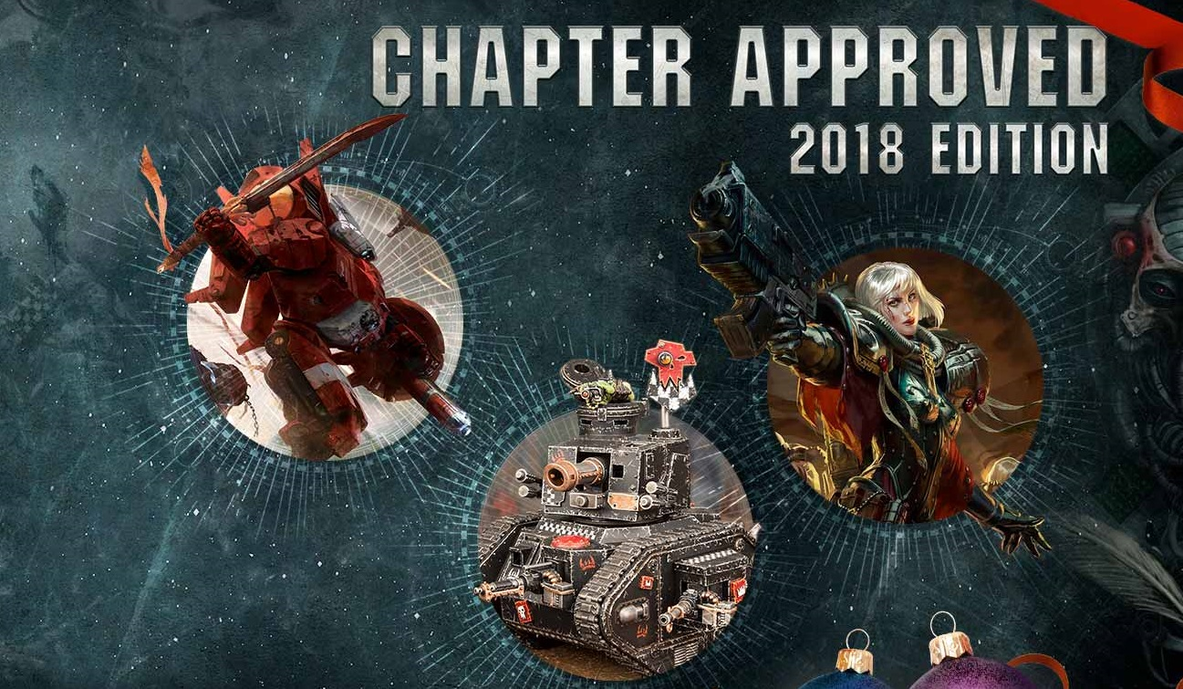 Chapter Approved 2018 Overview - More Than Just Points