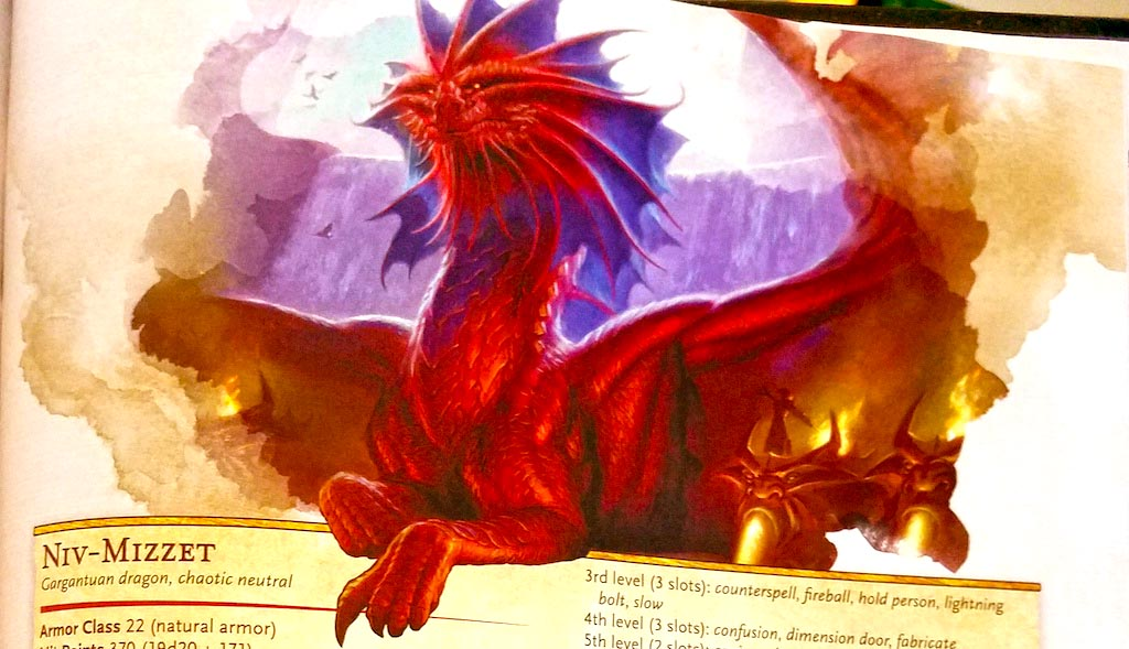D&D: The Leader Of Izzet - Niv Mizzet Is A Mad Scientist