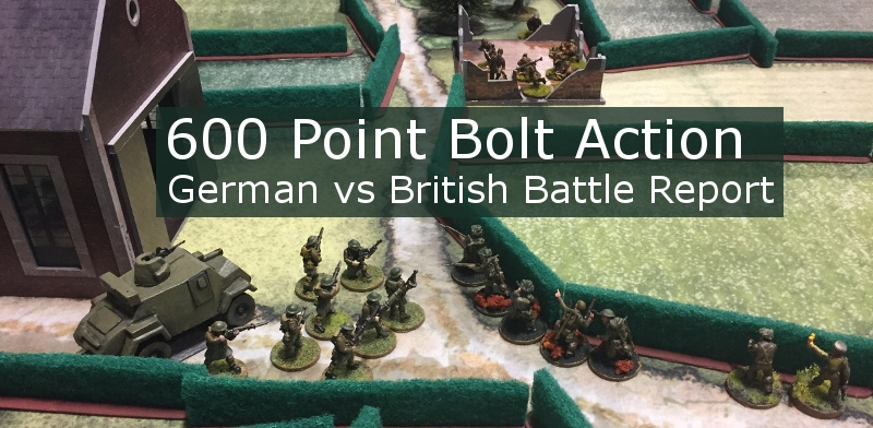 Bolt Action Coles Notes Battle Report