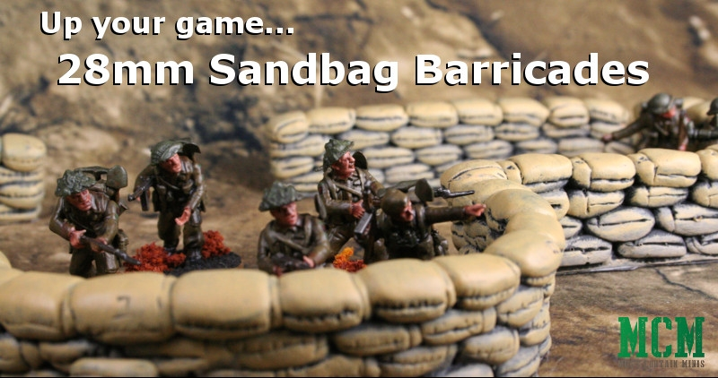 28mm sandbag terrain