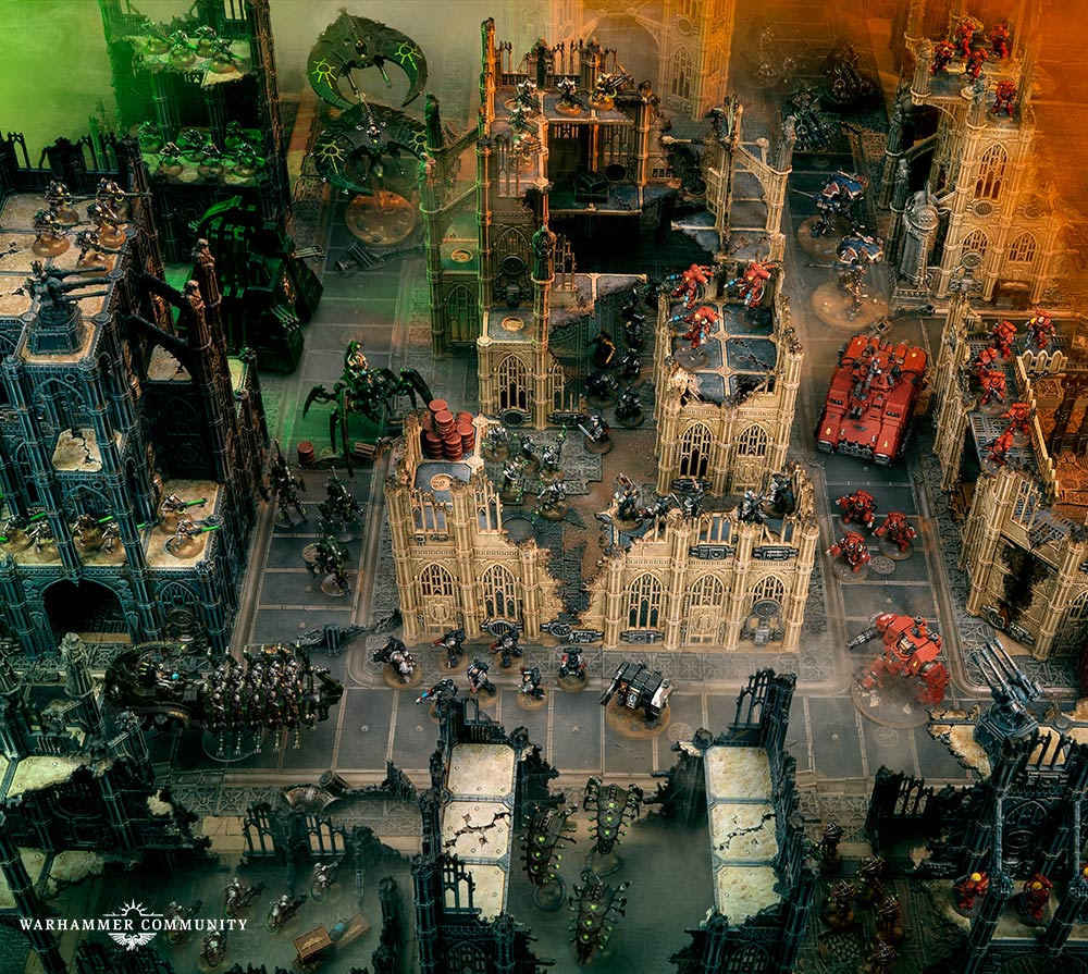 40K: Urban Conquest Rules Preview - Bell of Lost Souls