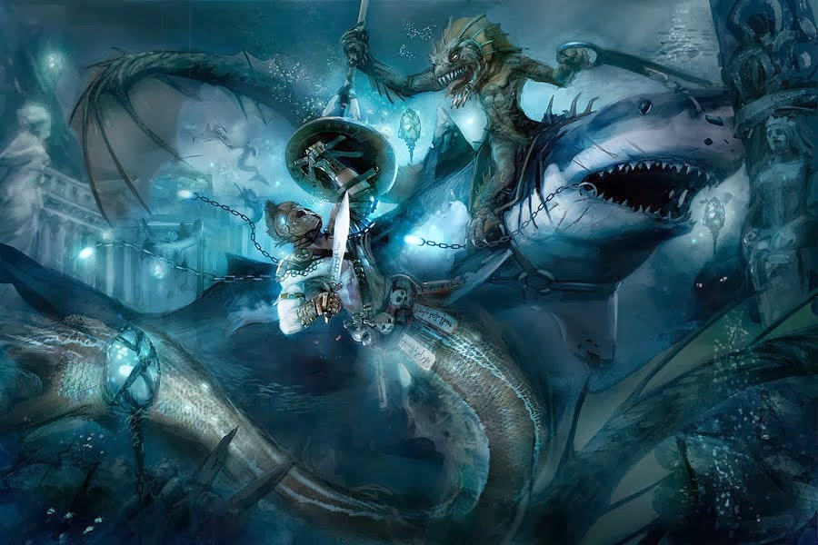 D&D: Underwater Combat And You - Rule The Seas Above And