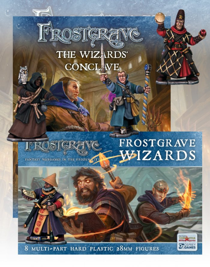 Osprey: New The Wizards' Conclave book and Plastic Wizard