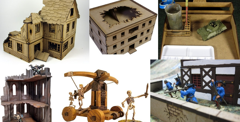 Introducing XOLK - MDF Terrain For Historical, Fantasy, and