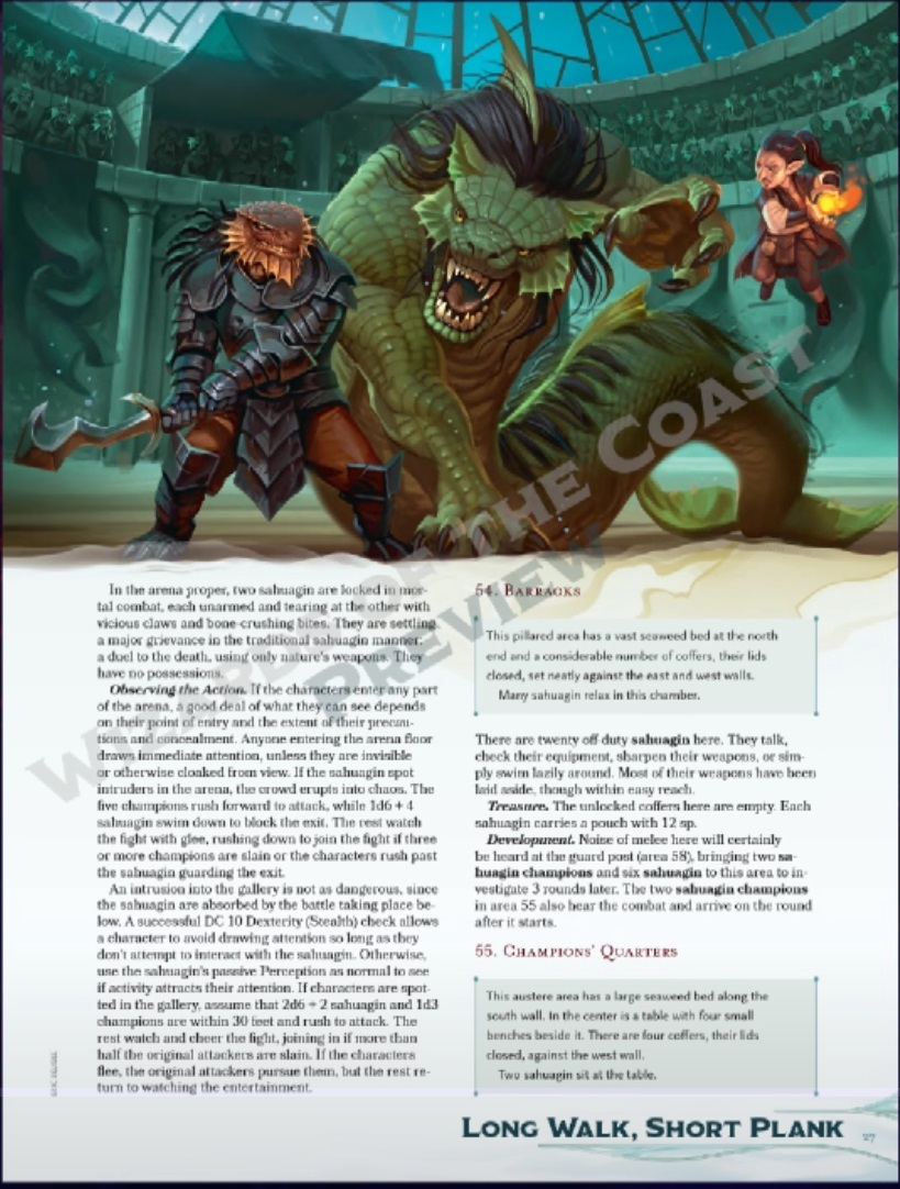 D&D: There's A Lobster Fight In D&D's New Book - Bell of Lost Souls