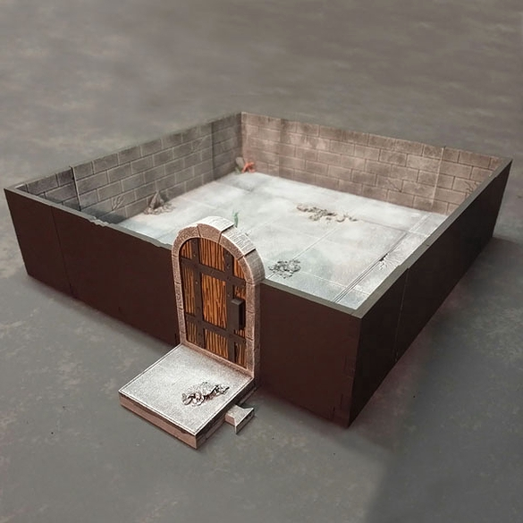 3D MDF Dungeons