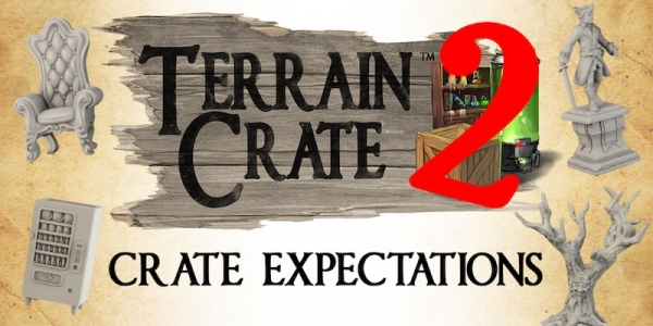 Mantic: Terrain Crate Returns to Kickstarter – Deck Out Your Dungeon