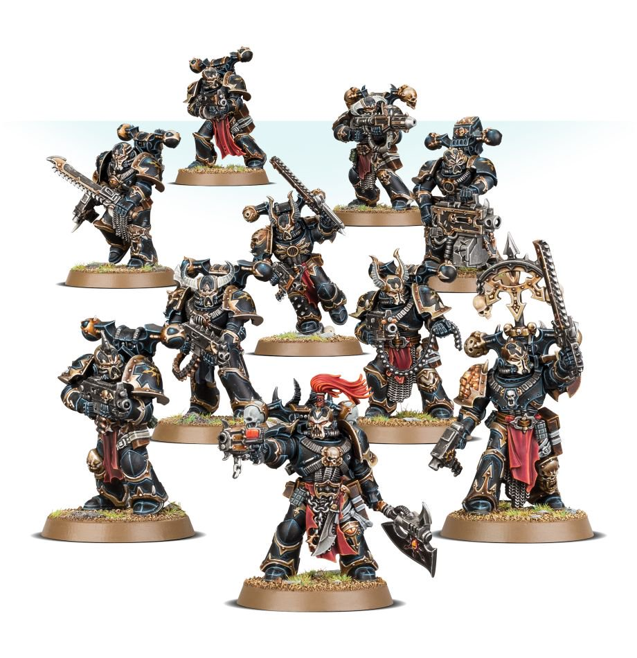 Warhammer 40k Chaos Space Marines: GW First Looks: Chaos Space Marines Arrival Imminent