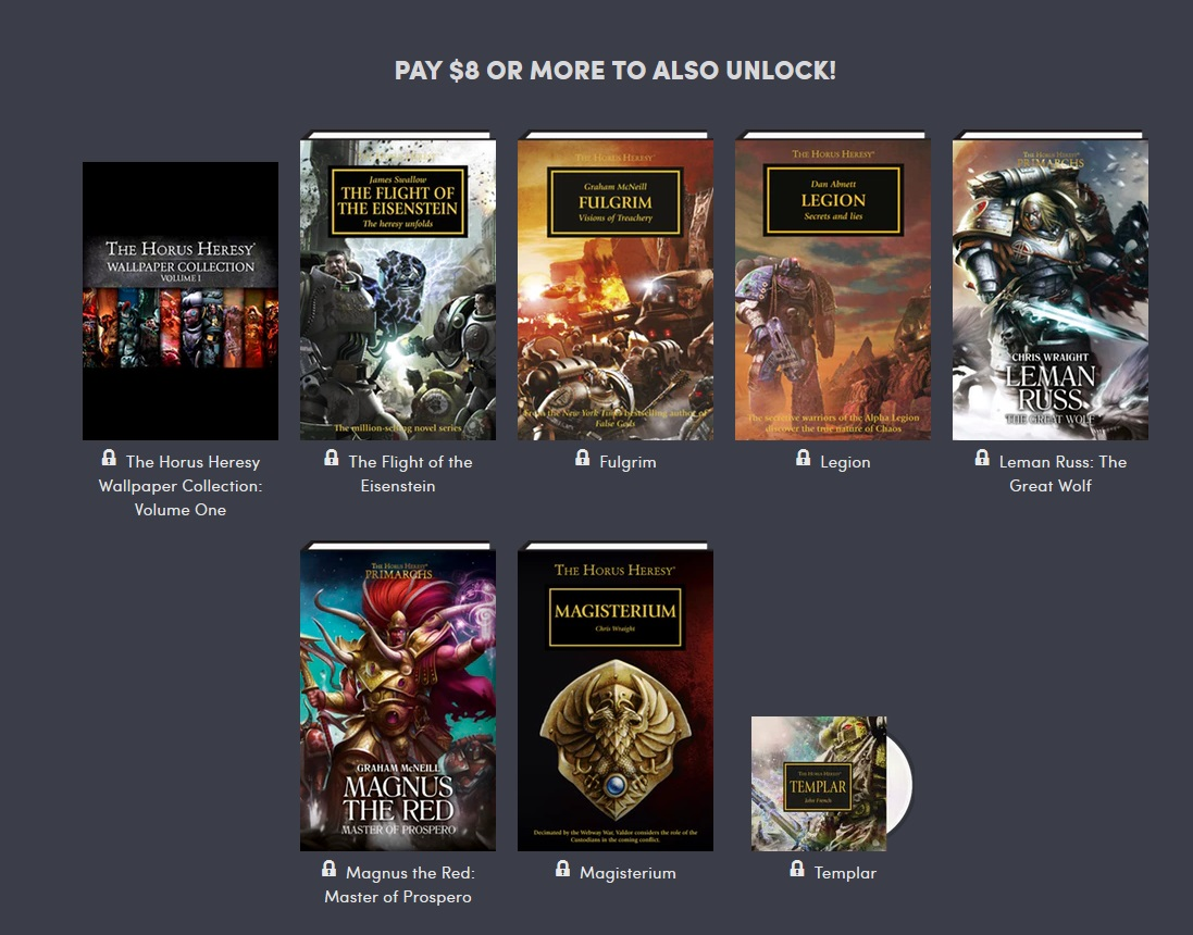 40K: The Horus Heresy Comes To Humble Bundle - Bell of Lost