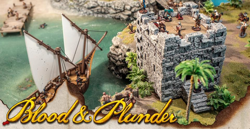 Blood and Plunder gets into terrain with this cool fort!