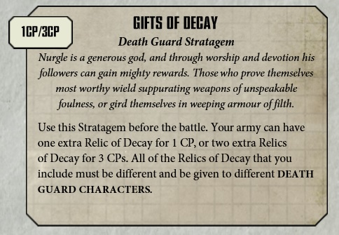 40K: Fun With Chaos Warlord Traits & Relics - Bell of Lost Souls