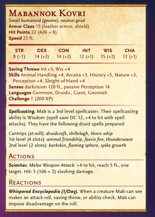 D&D: Acquisitions Incorporated Character Previews - Bell of