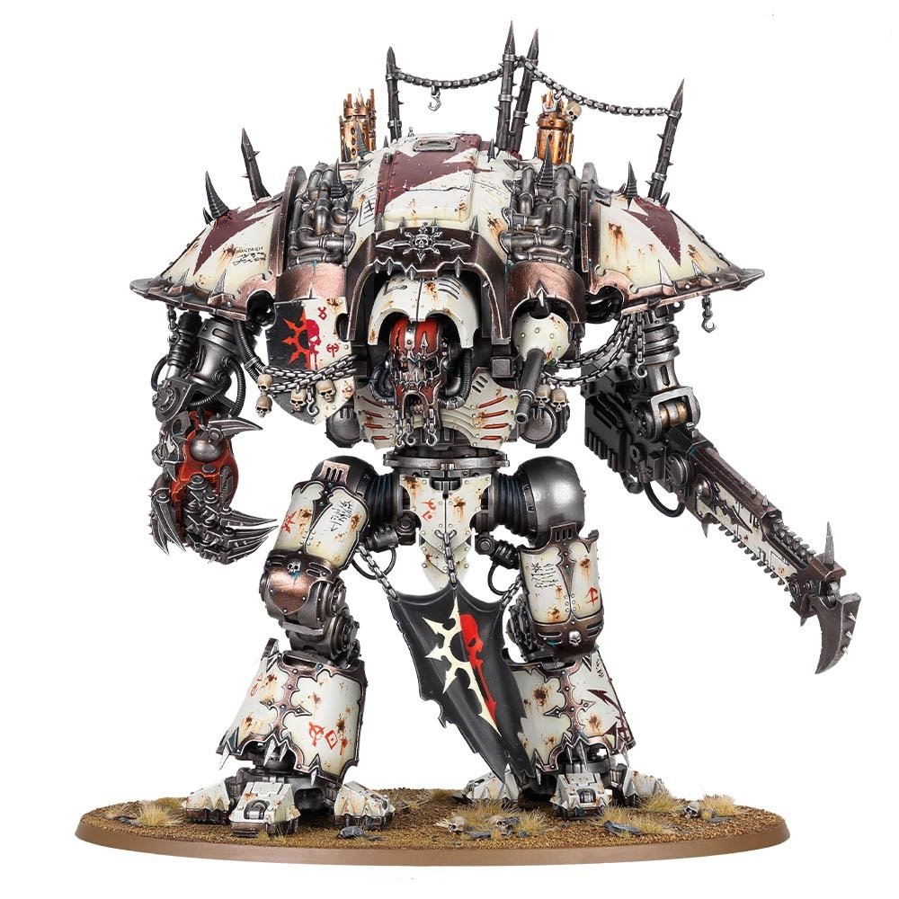 Goatboy's 40k Thoughts: Chaos Knight Hopes and Dreams - Bell of Lost