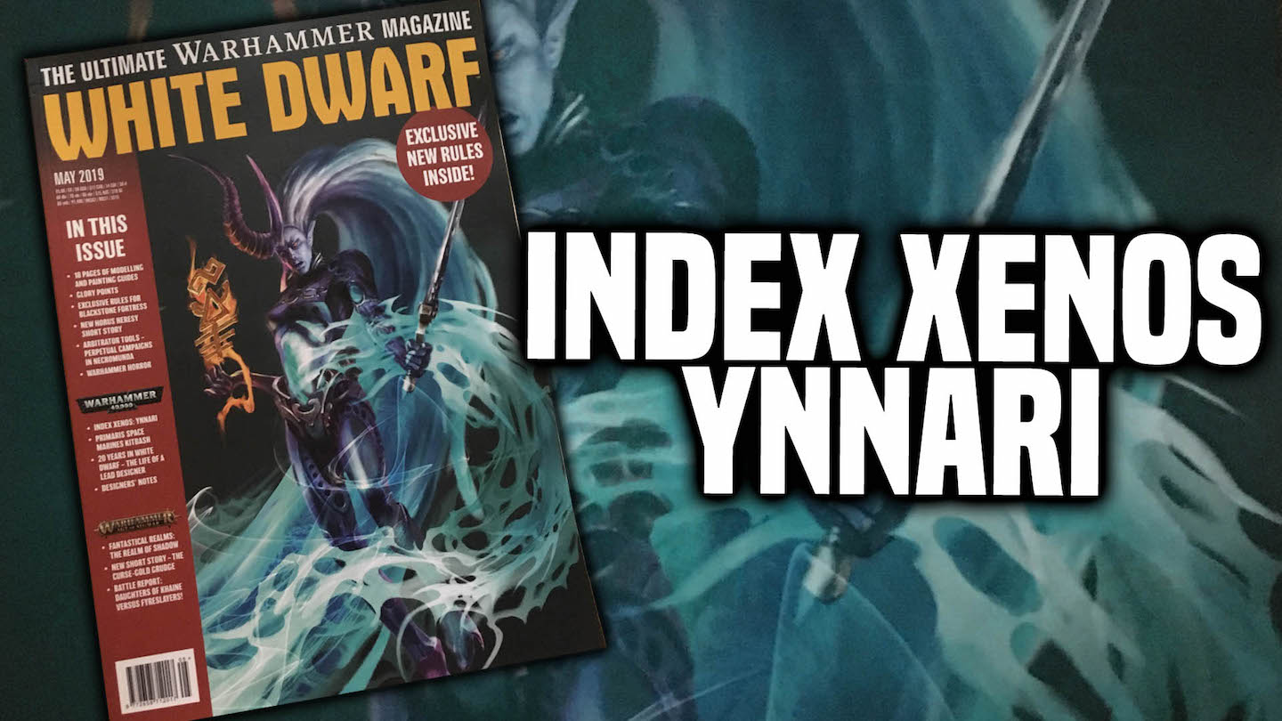 40K: Overview - Ynnari Index - Bell of Lost Souls