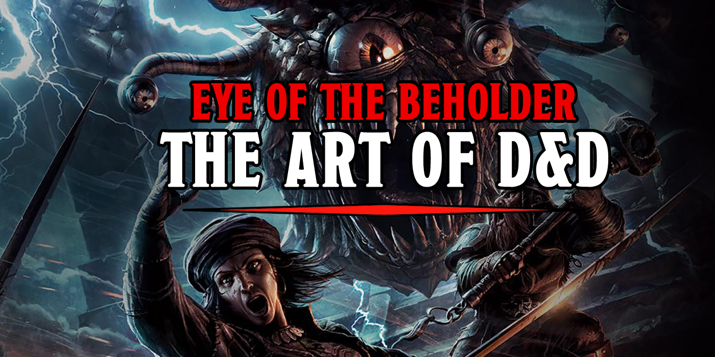Big Eye Fantasy Dnd Art