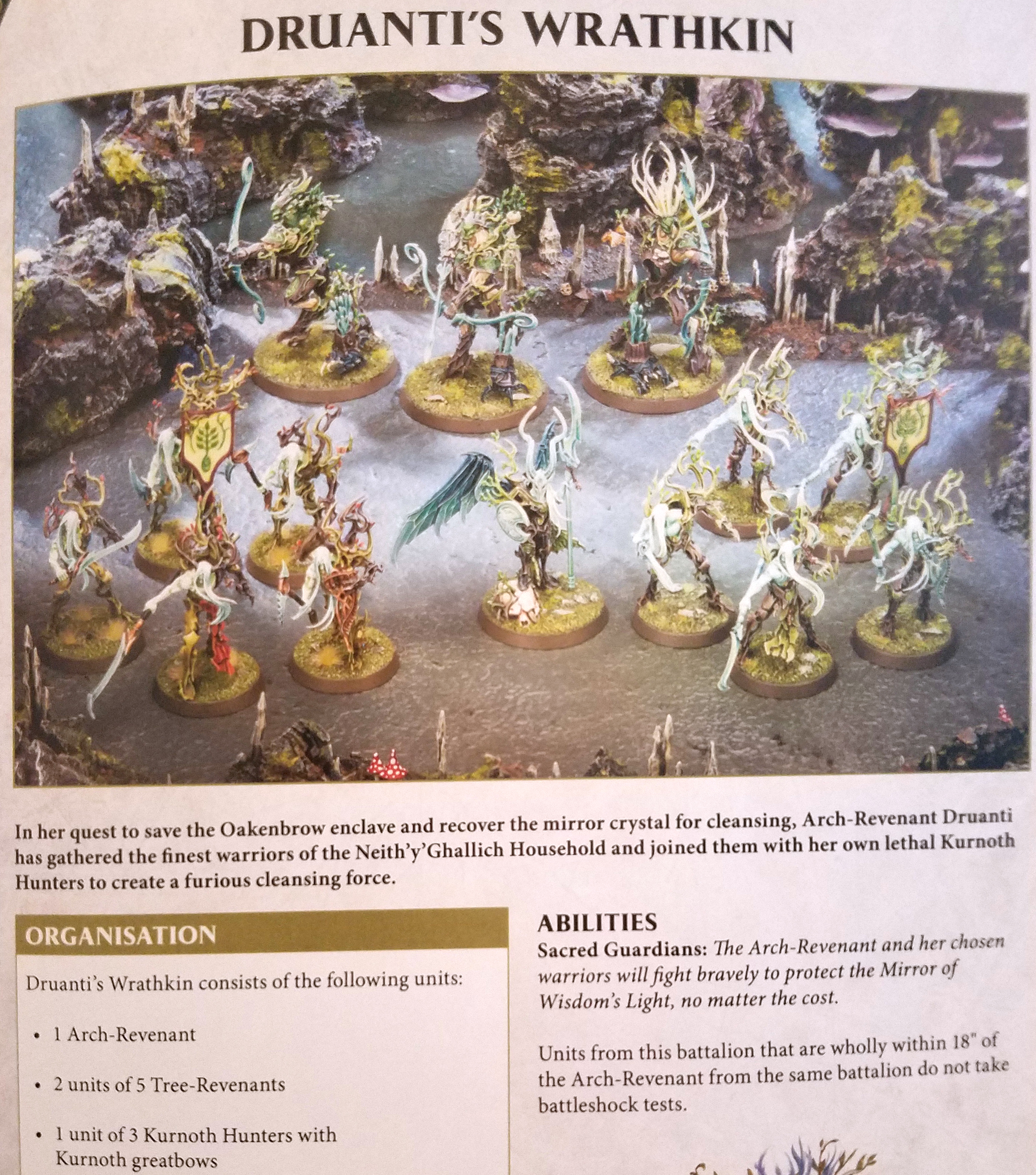 AoS: The Arch-Revenant Of The Sylvaneth And Druanti's