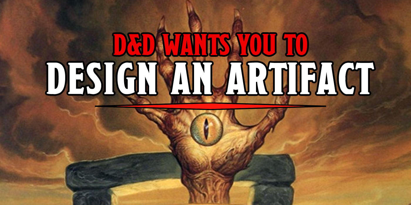 D&D Wants You To Build Some Artifacts - Bell of Lost Souls