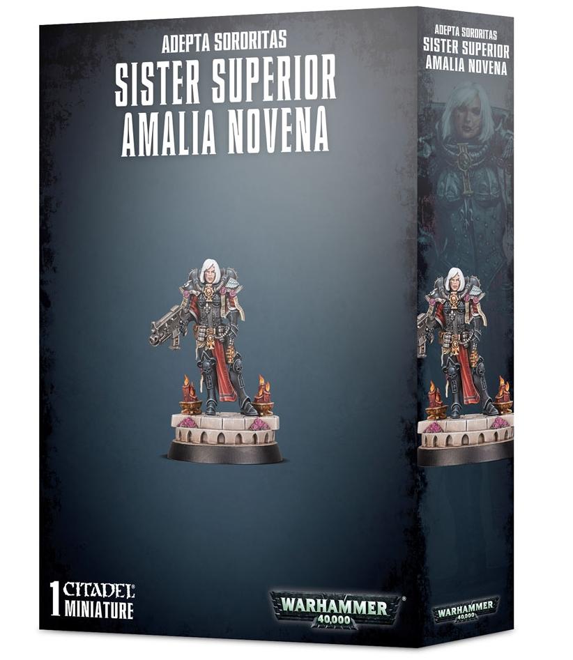 40K BREAKING: 1st Plastic Sister Of Battle Available