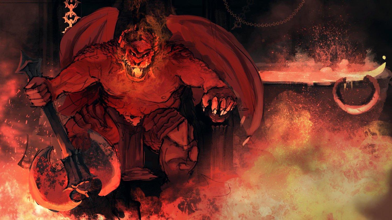 D D Monster Spotlight Horned Devils Bell Of Lost Souls