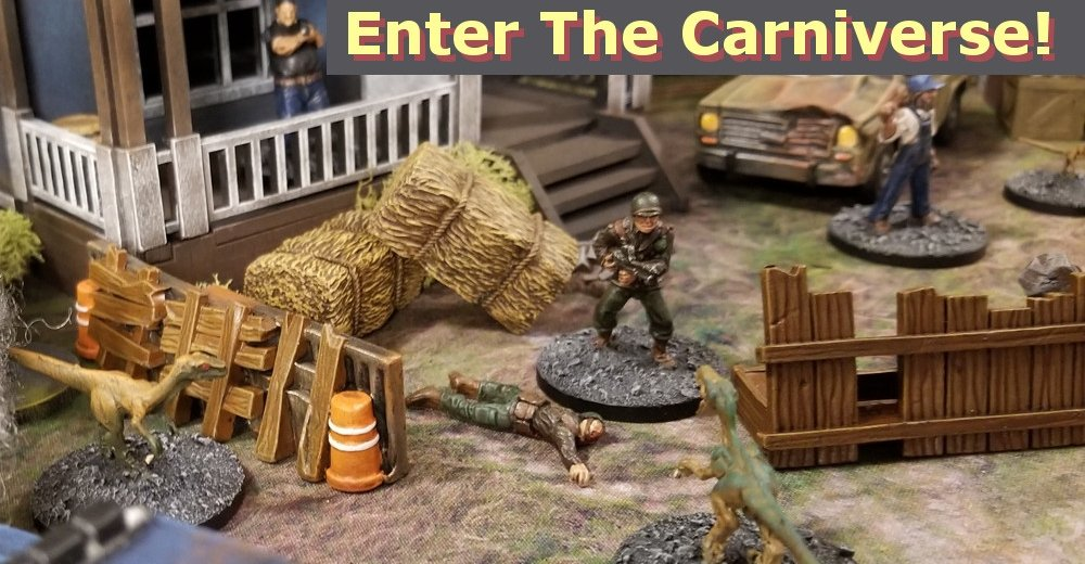 Enter The Carniverse - New Time Line Altering Skirmish Live on