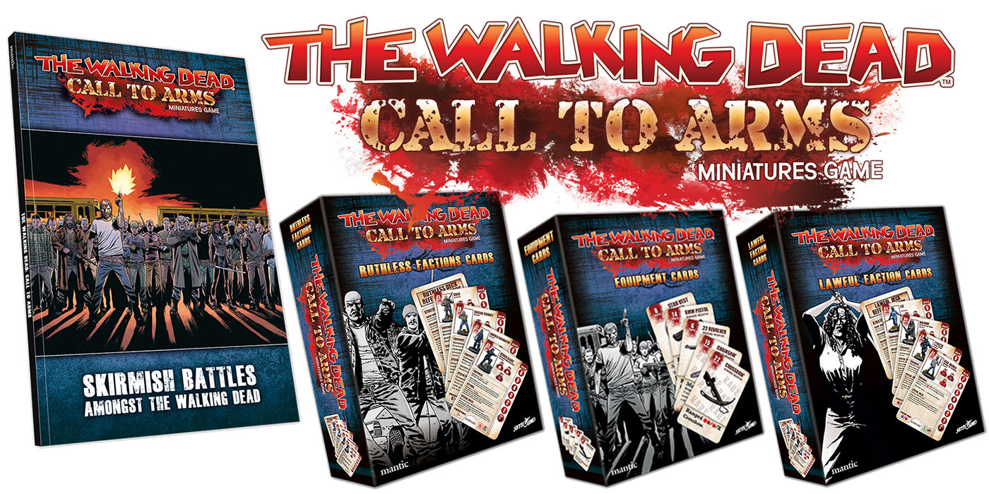 THE WALKING DEAD CALL TO ARMS WALKERS HERD PACK MANTIC