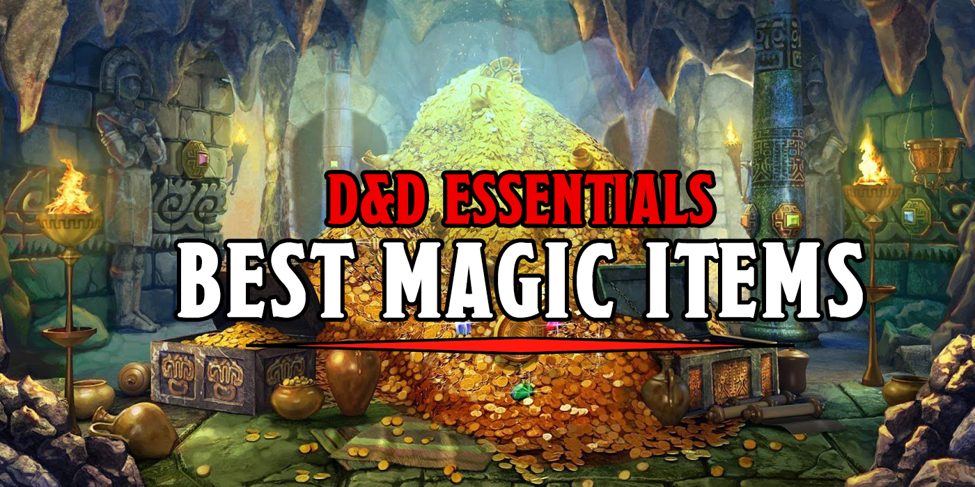 D&D: The Best Magic Items In The New Essentials Kit - Bell