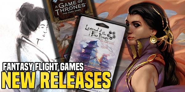 Fantasy Flight Games New Releases: GoT & L5R World Champ Decks