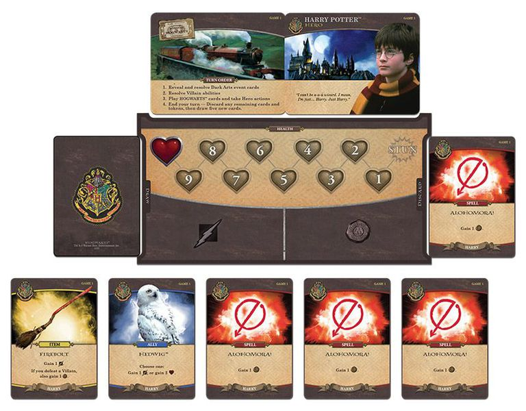 Harry Potter Returns To Deck Builders In A Head To Head Dual Defense Against The Dark Arts Bell Of Lost Souls