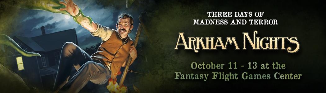 Fantasy Flight Games: Arkham Nights 2019 Announced - Bell of Lost Souls