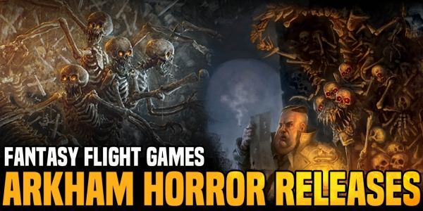 Fantasy Flight Games: New Arkham Horror: The Card Game Release