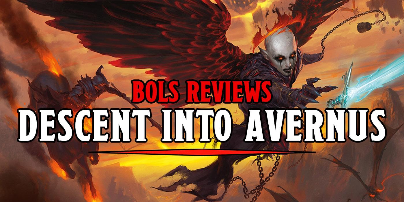 D&D: Baldur's Gate Descent Into Avernus - The BoLS Review - Bell of Lost Souls