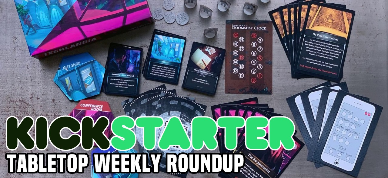 Tabletop Kickstarter Round-Up: September 4, 2019