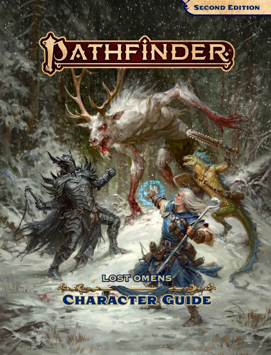 Pathfinder: The Lost Omen Character Guide Is All About