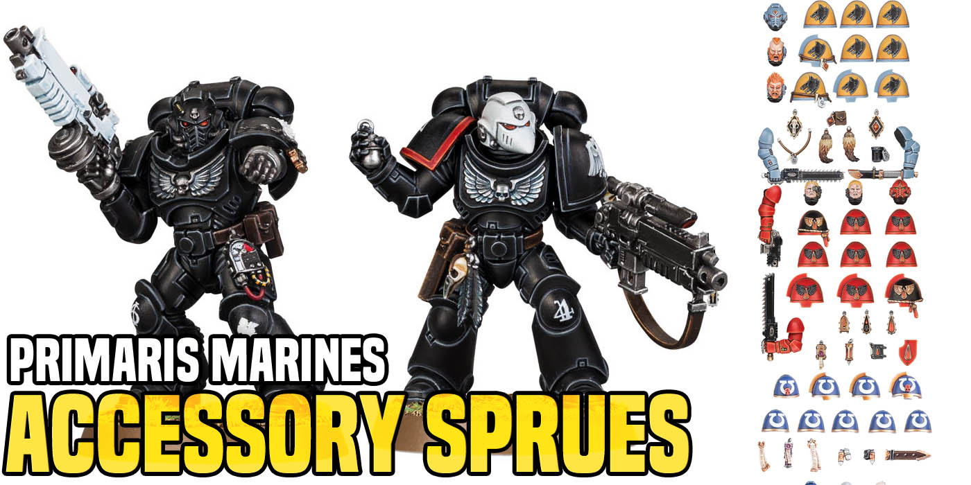 40K Space Marine Blood Angels Upgrade Pack HEAD D