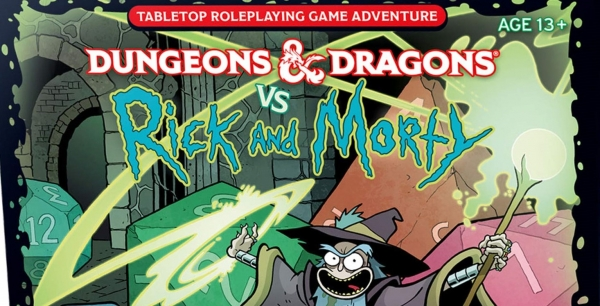 D&D: Hold The Phone There's A Rick And Morty D&D Starter Set