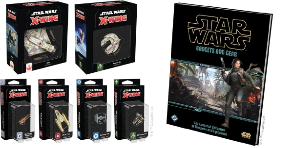 Fantasy Flight Games: New X-Wing Releases Now Available