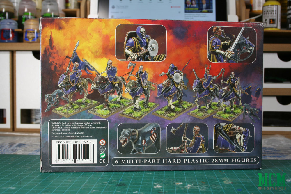 FORGOTTEN WORLDS 28MM FIREFORGE GAMES LIVING DEAD KNIGHTS