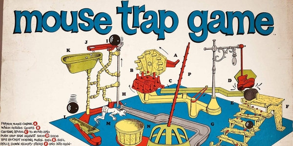 Board Games Retro: Did Anyone Ever Actually PLAY 'Mouse Trap'?