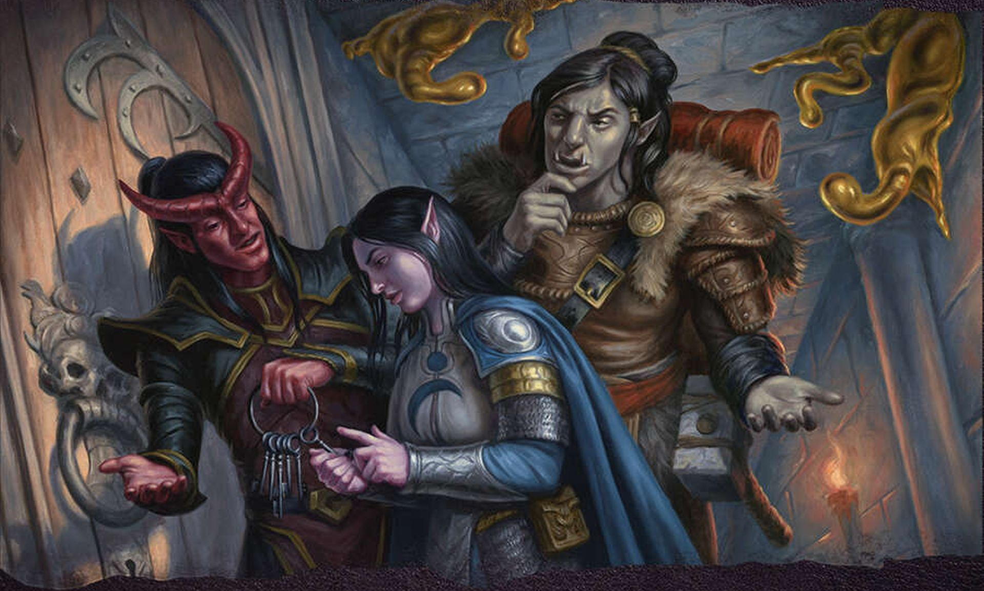 D&D: Five Ways To Be Stealthy Even In Heavy Armor - Bell of Lost Souls
