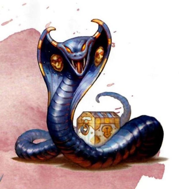 D&D Monster Spotlight: The Iron Cobra - Bell of Lost Souls
