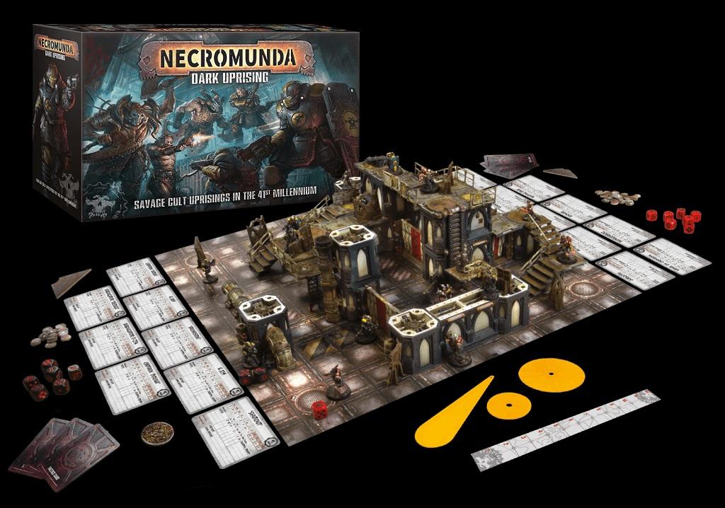 Brand New 40K Warhammer Games Workshop 3 Necromunda Underhive Barricade Set