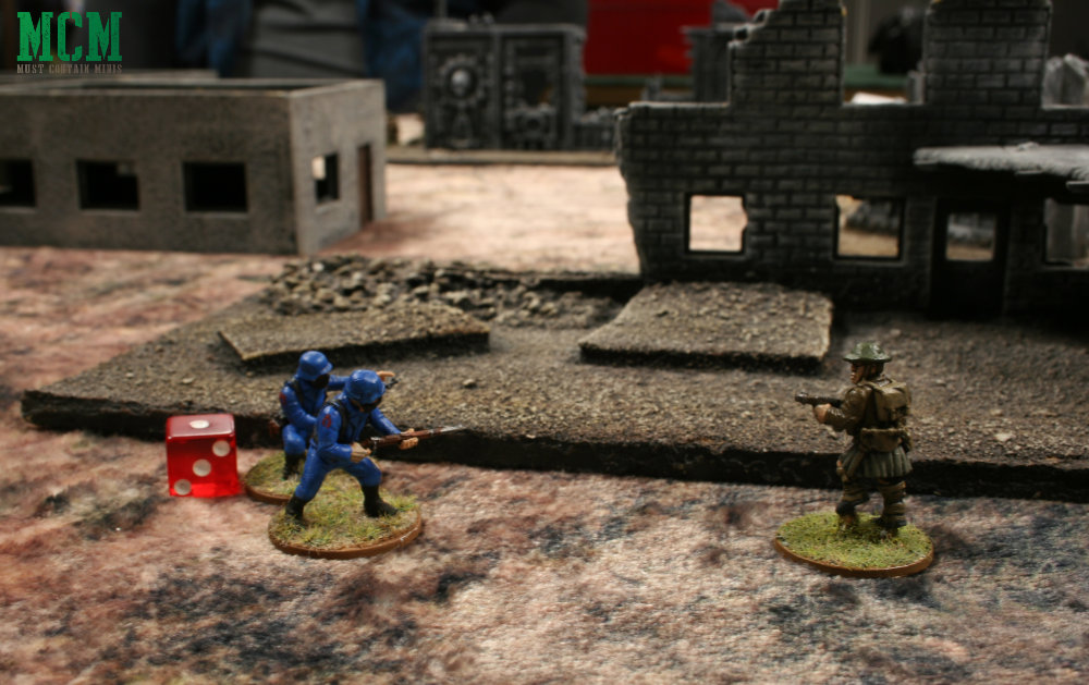 Cobra takes on British soldiers in Bolt Action