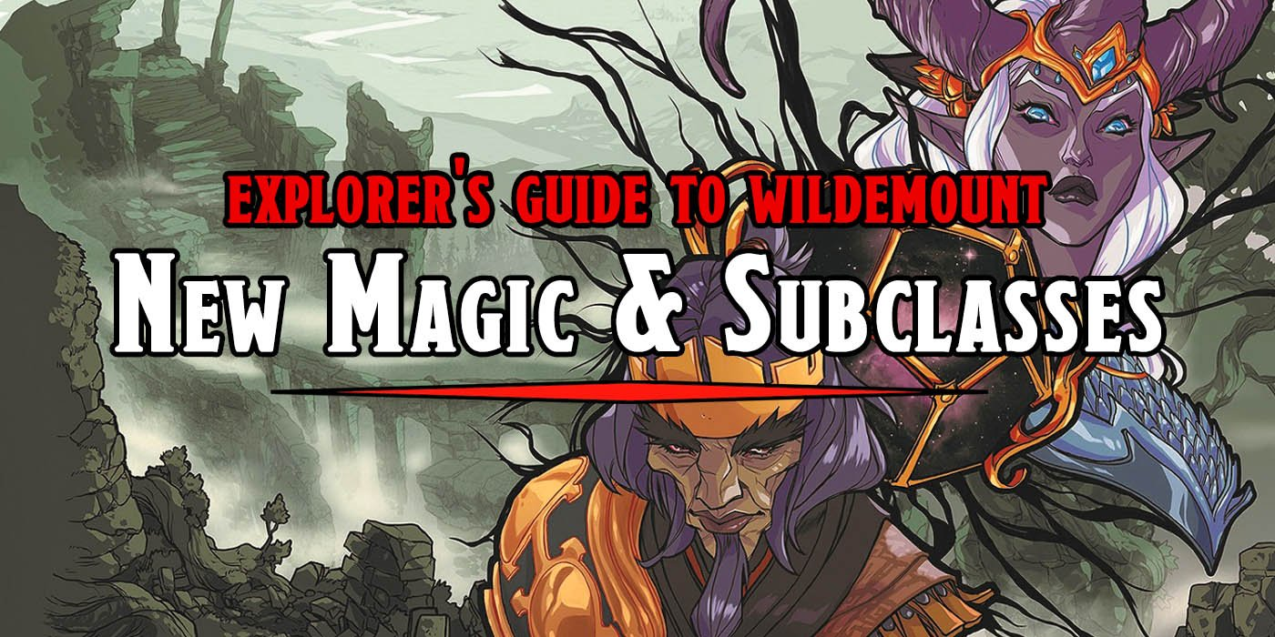 D&D: New Magic And New Subclasses Unveiled In Explorer's Guide To Wildemount - Bell of Lost Souls