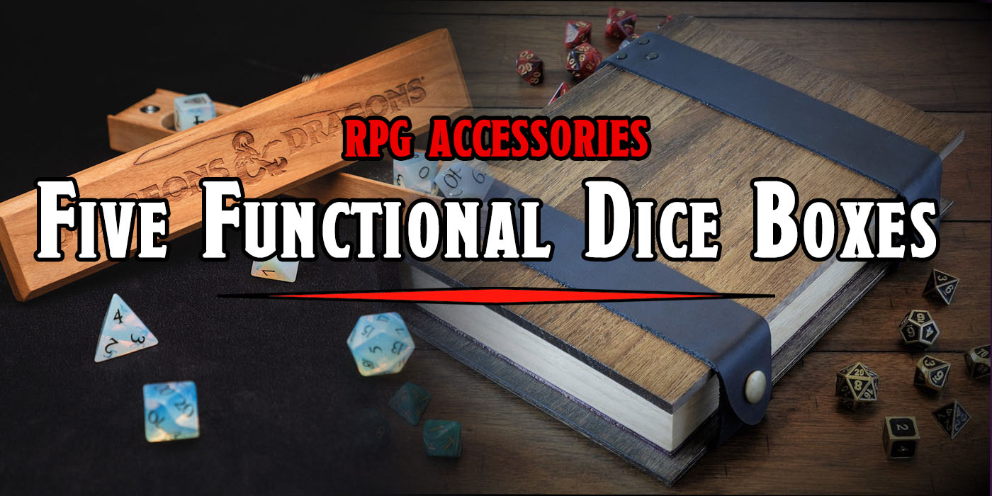 RPG: Five Functional Dice Boxes - Bell of Lost Souls