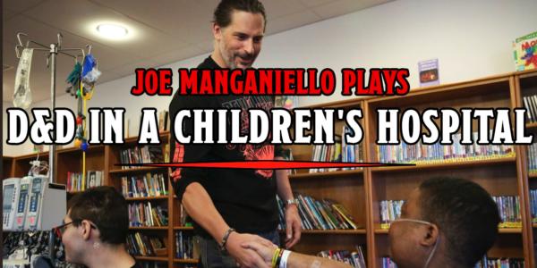 RPG: Joe Manganiello Brings Fantasy & Adventure to Children's Hospital