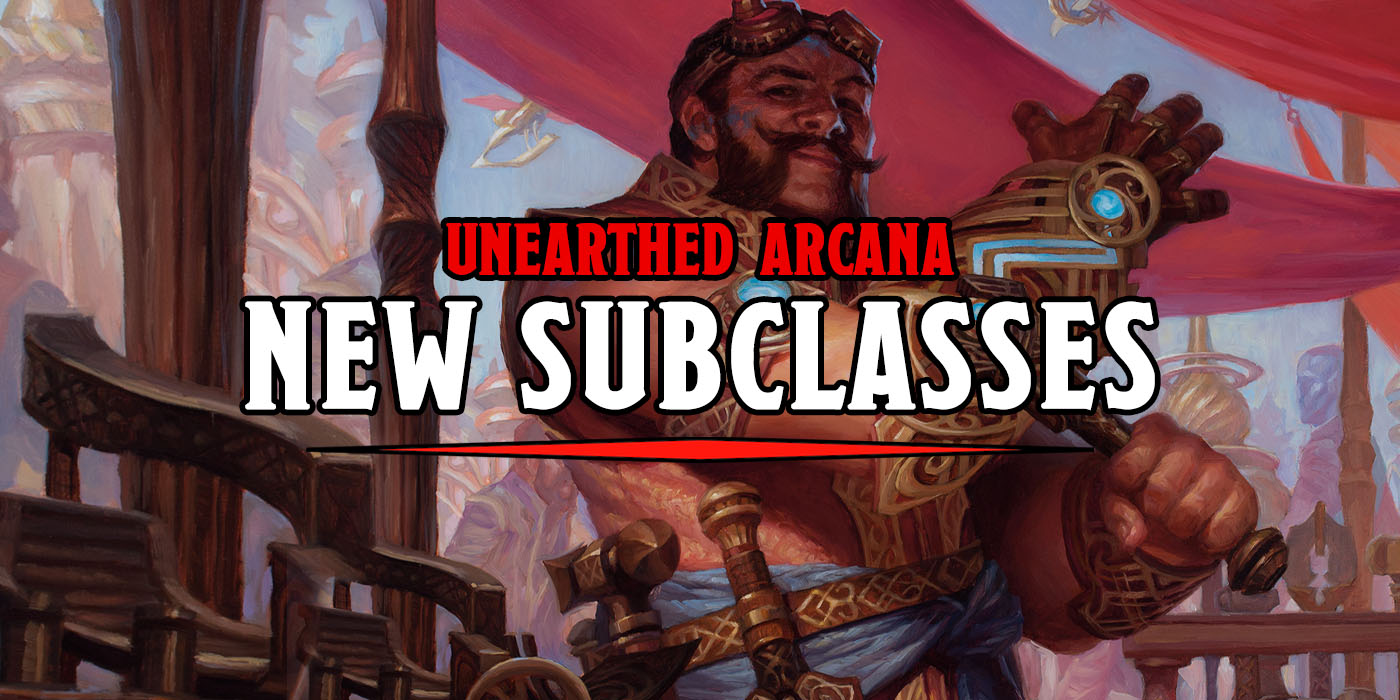 D&D: Druids, Rangers, And Artificers Get Experimental New Subclasses In Unearthed Arcana - Bell of Lost Souls