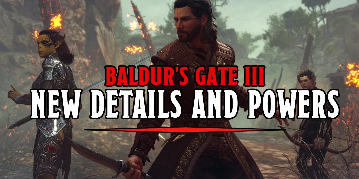 D D Baldur S Gate 3 Early Access Classes Confirmed Bell Of Lost Souls