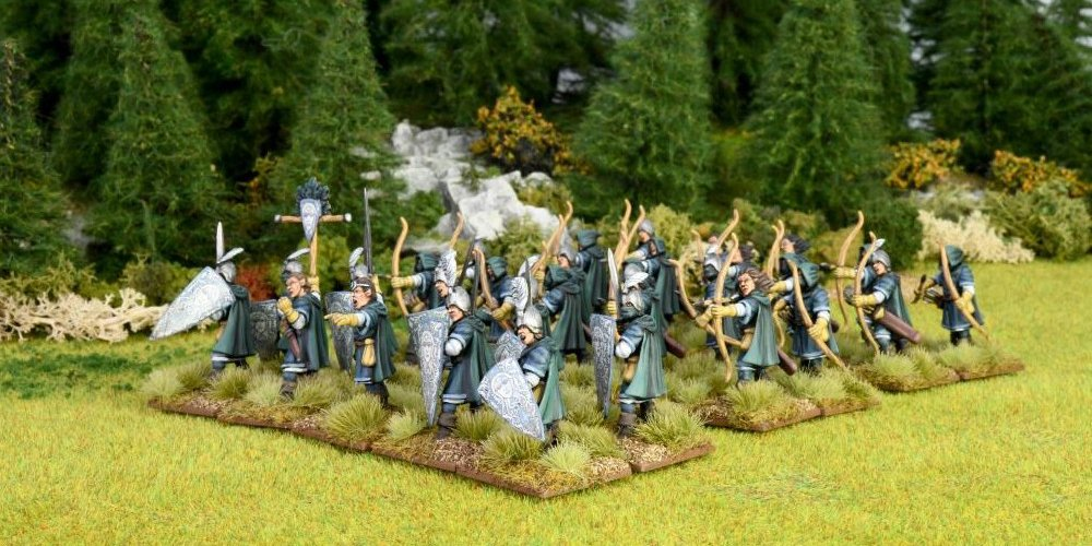 Oathmark Elf Infantry sprue