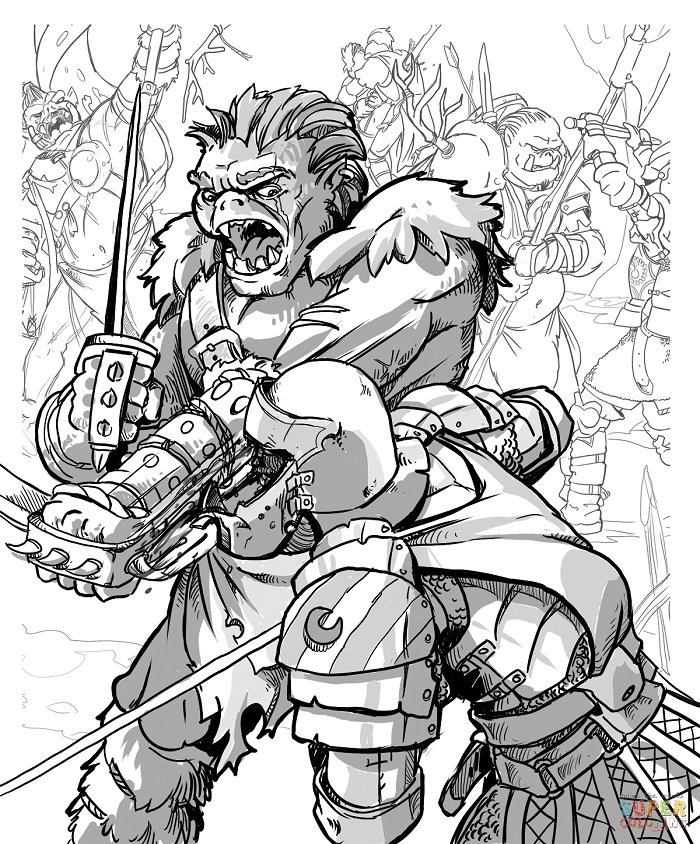 - D&D Coloring Pages - Bell Of Lost Souls