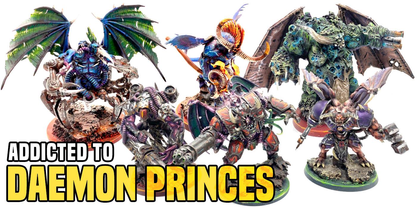 Warhammer 40k Chaos Daemons Daemon Prince Wings Bits